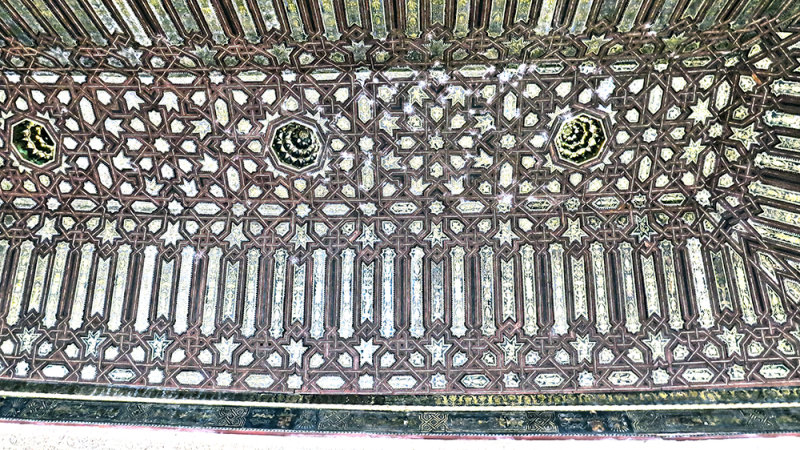 Star Patterns in the Ceiling