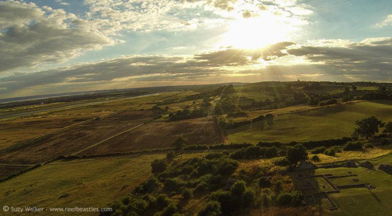 Hadleigh Castle Aerial 5
