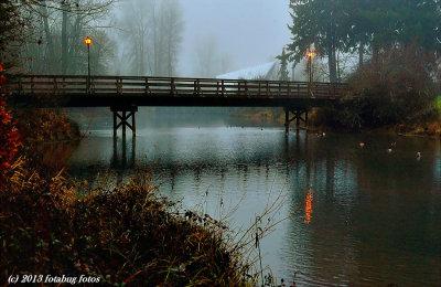 Bridge to Cuthbert Amphitheater, Alton  Baker Park