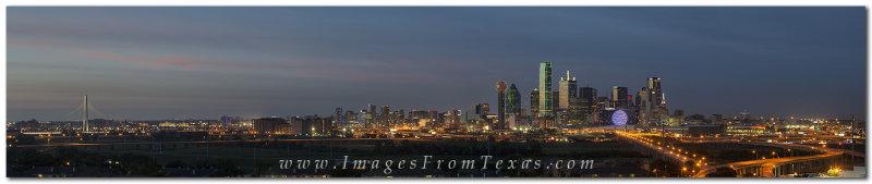 Dallas Skyline Images 612- Dallas Skyline Panorama