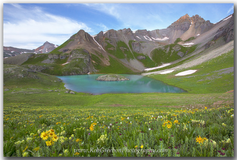 Colorado Landscape Images - Island Lake 2
