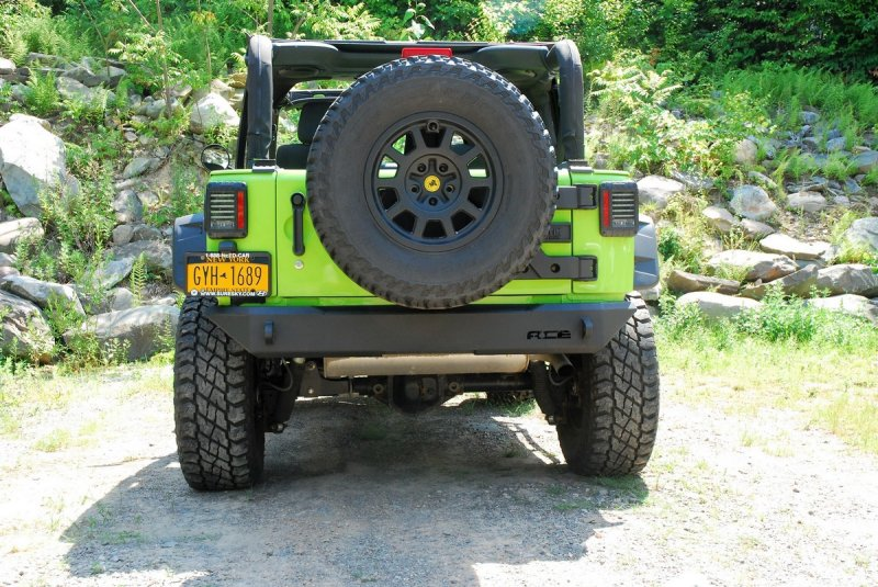 Ace Halfback Rear Bumper Jeep Wrangler Forum