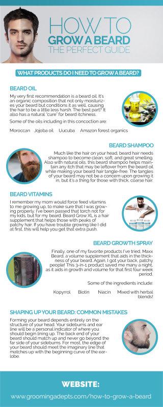 Best Way To Grow A Beard