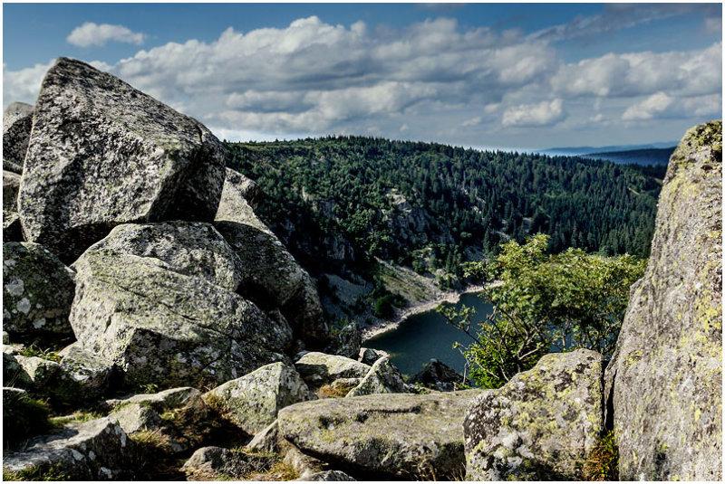 Lac Blanc, Rocher du Hans