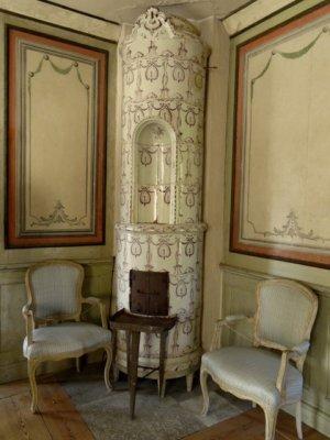 Ceramic heater, Skogaholm Manor