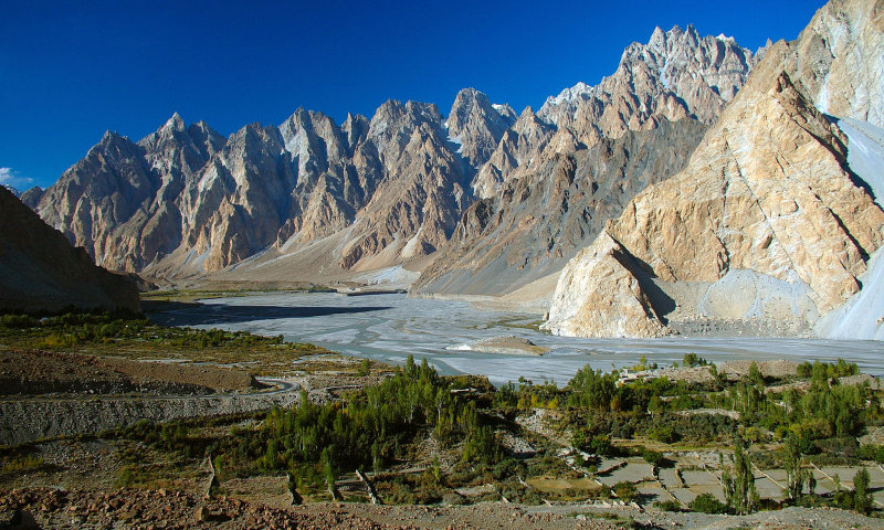 Pasu Cones, Karakoram Mountains, Pasu, Karakoram Highway, Pakistan