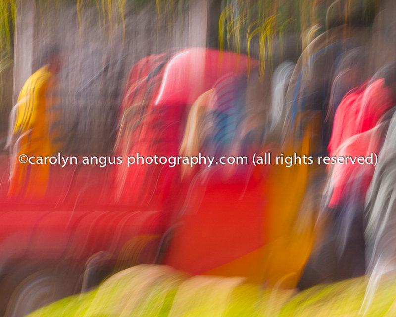 Women in Saris