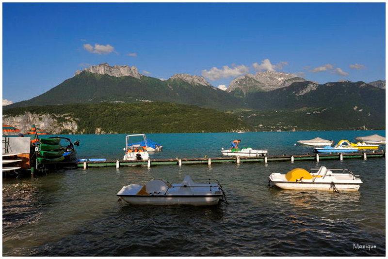 Le Lac dAnnecy vu depuis Saint Jorioz
