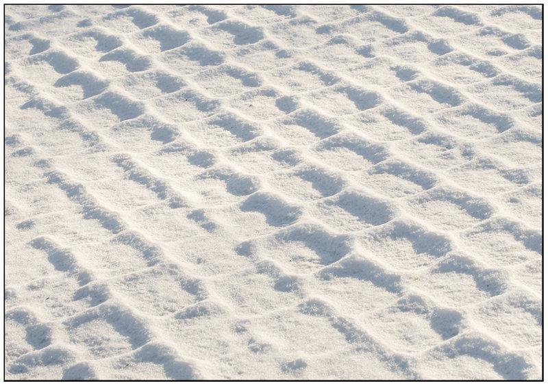 Snow on my pavement