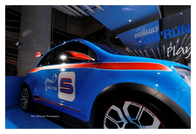 Renault TwinRun Concept, Paris 2014