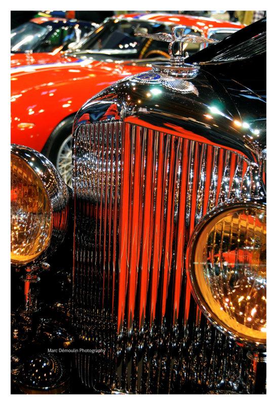 Bentley 8 Litre coupe Sportsman Gurney-Nutting 1931, Paris 2014.