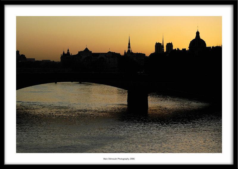 Pont Neuf et Ile de la cite, Paris, France 2006