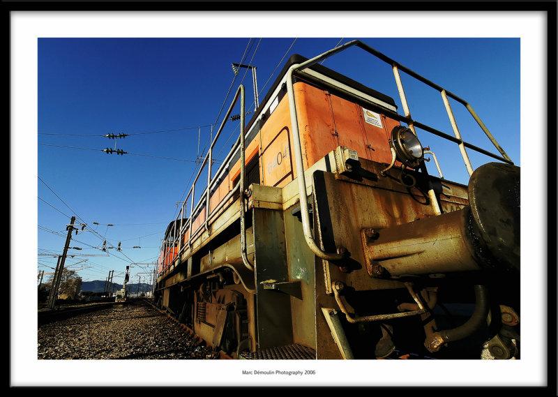 Railway depot, Cannes, France 2006