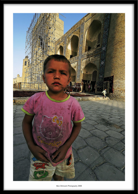 Young boy, Bukhara, Uzbekistan 2008