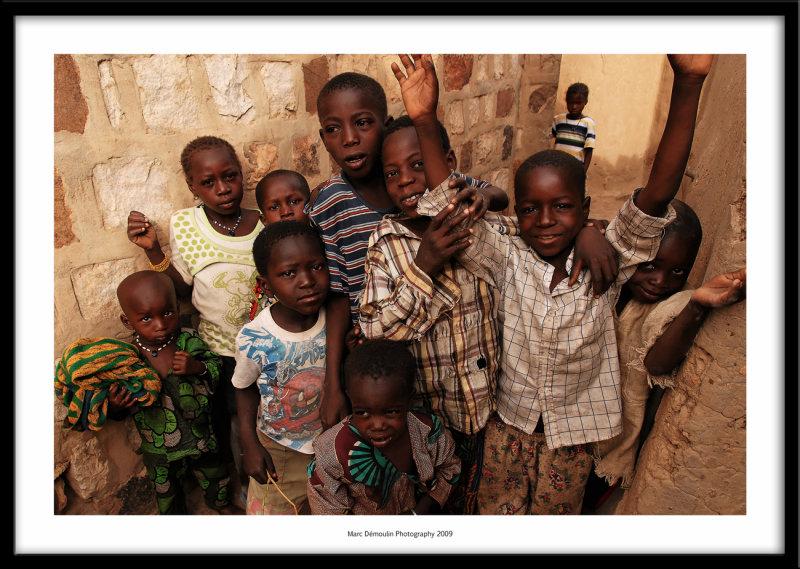 Young team, Dogon village, Mali 2009