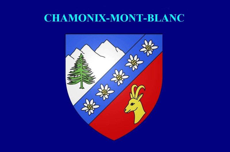 <strong>Blason de Chamonix-Mont-Blanc<br>Coat of arms of Chamonix-Mont-Blanc</strong>