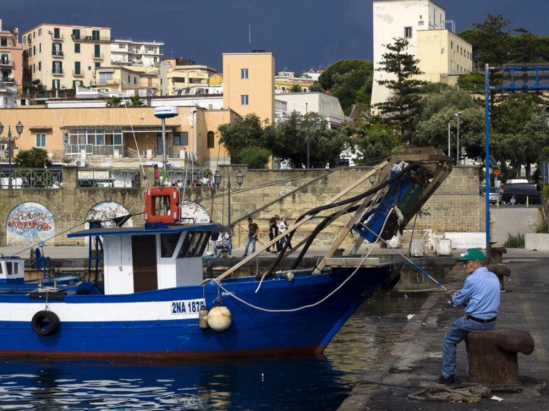 fishing the harbor