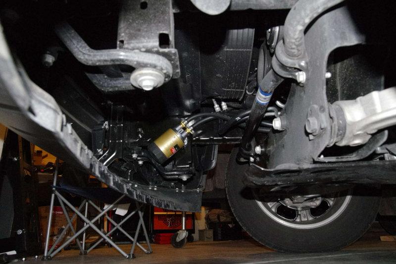 2014 1500 5.7L Oil filter relocation - Hemi Truck Club