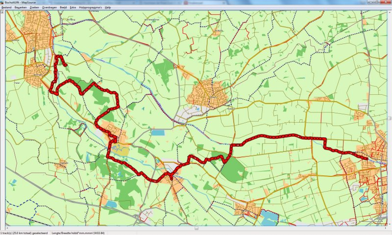 Bocholt - Ulft 25,0 km