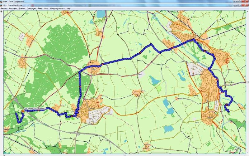 Ulft - Elten 25,9 km
