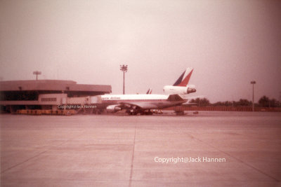 Philippine Airlines McDonnell Douglas DC-10-30 at Manila International Airport (MIA)