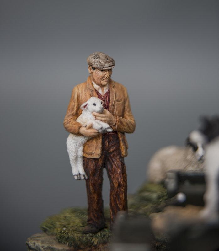 SHEPHERD AND HIS LAMB IMAGE TWO.