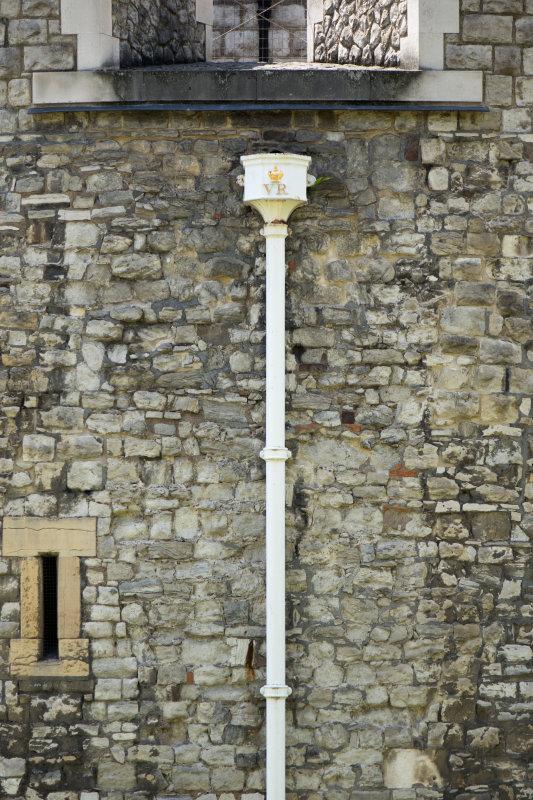 Improvement on the original plumbing (in 1843)
