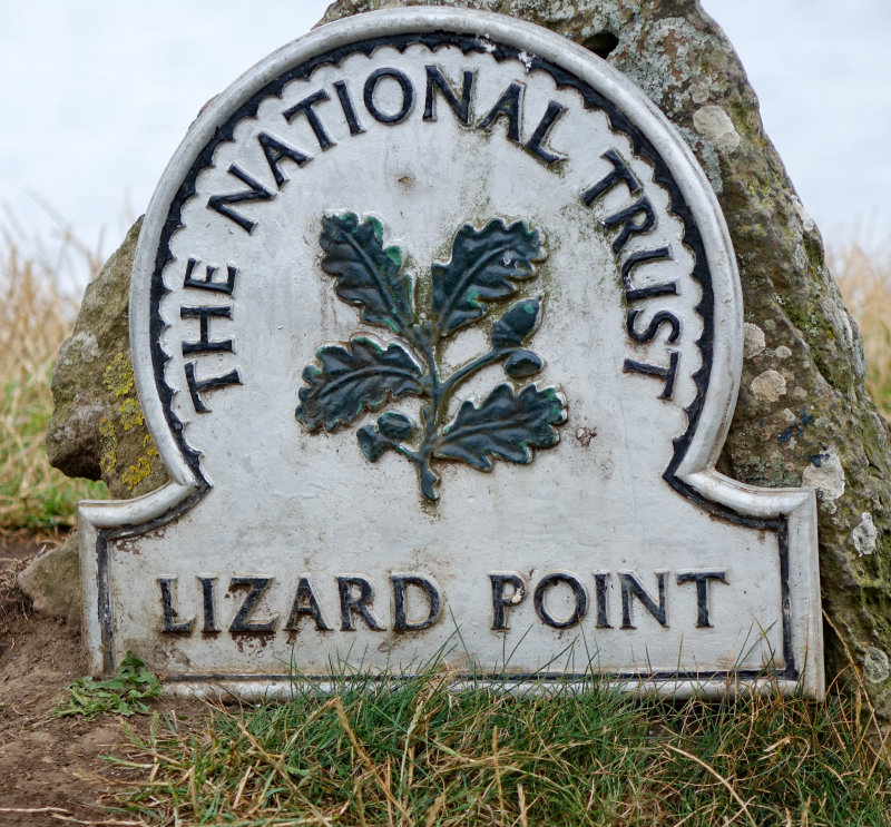 Lizard Point is looked after by the National Trust