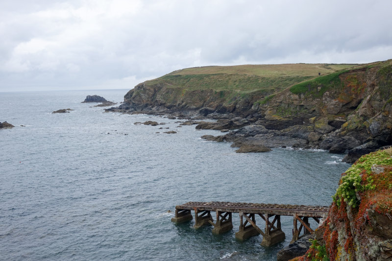 View of the coast from Lizard Point
