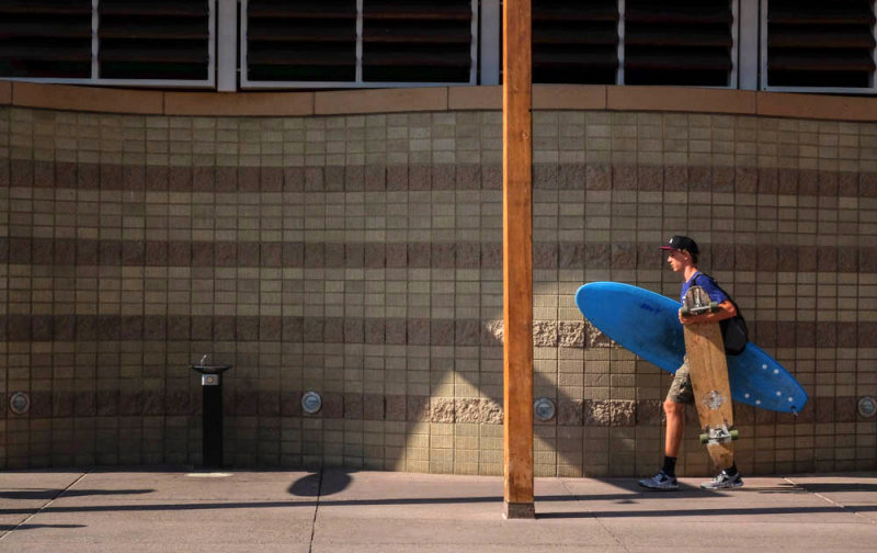 Well-equipped, Imperial Beach, California, 2014