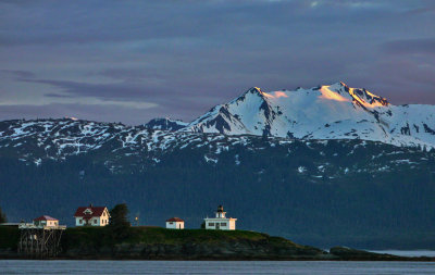 Point Retreat Light House, Admiralty Island, Alaska, 2013