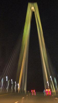 Homeward bound, New Cooper River Bridge, Charleston, South Carolina, 2013