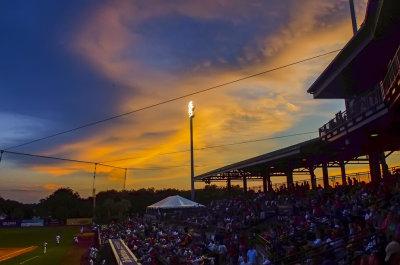 Nightfall, Riley Park, Charleston, South Carolina, 2013