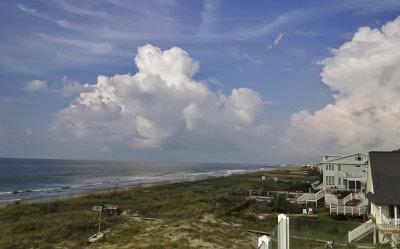 Summer morning, Isle of Palms, South Carolina, 2013