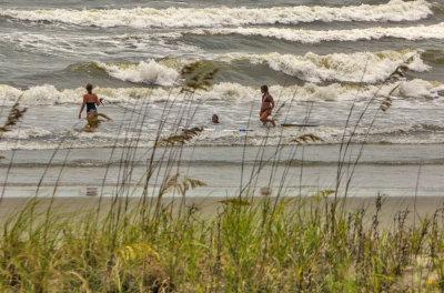 The power of the sea, Isle of Palms, South Carolina, 2013