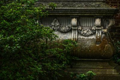 Gadsden tomb, St. Philips Graveyard, Charleston, South Carolina, 2013.