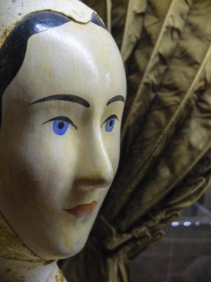 Dressmaker's mannequin, Charleston Museum, Charleston, South Carolina, 2013