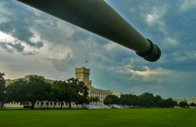 Parade Ground, The Citadel  -- the Military College of South Carolina, Charleston, South Carolina, 2013