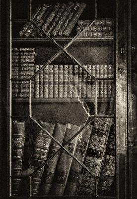Original books, Heyward-Washington House, Charleston, South Carolina, 2013