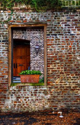 Symmetry in the ruins, Charleston, South Carolina, 2013