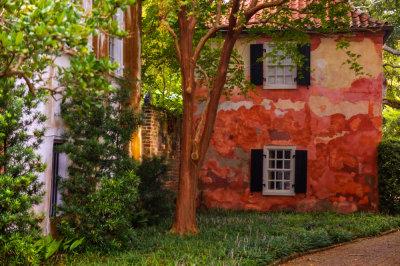 Seeing red, Charleston, South Carolina, 2013