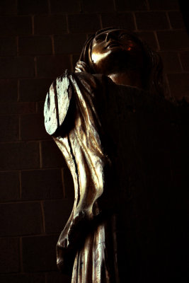 Statue of Charity, Charleston Museum, Charleston, South Carolina, 2013