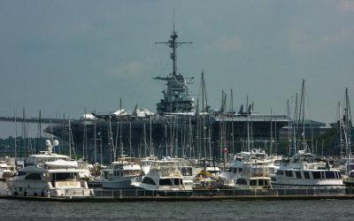 Aircraft Carrier Yorktown, Mount Pleasant, South Carolina, 2013