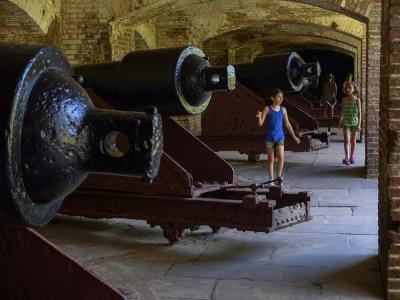 Touring Fort Sumter National Monument, Charleston, South Carolina, 2013