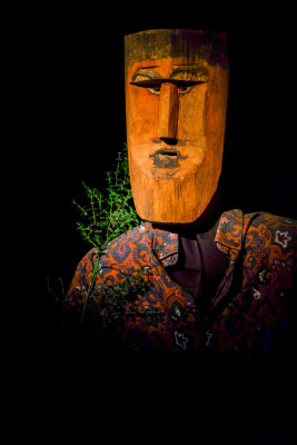 Mask, Museum of Anthropology and Folklore, Sucre, Bolivia, 2014