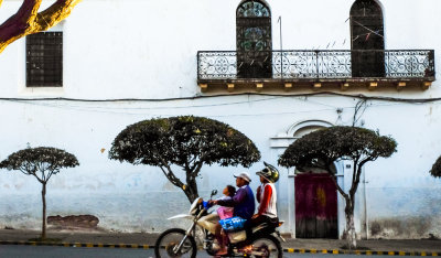 Family outing, Sucre, Bolivia, 2014