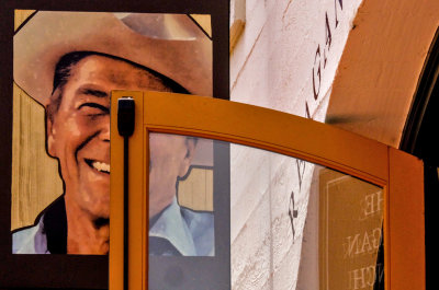 Entrance, The Reagan Ranch Center, Santa Barbara, California, 2014