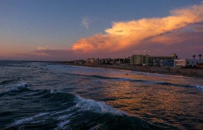 Last light, Imperial Beach, California, 2014