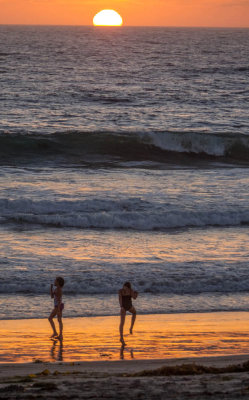 A dance at sunset, Imperial Beach, California, 2014