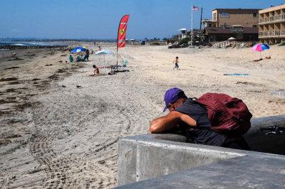 Midweek afternoon, Imperial Beach, California, 2014